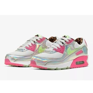 Nike Air Max 90 LX Iridescent Shoes